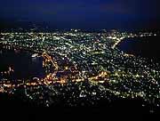 函館山 ロープウェイ 夜景
