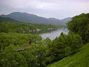 帯広 糠平湖