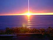 礼文島 落陽
